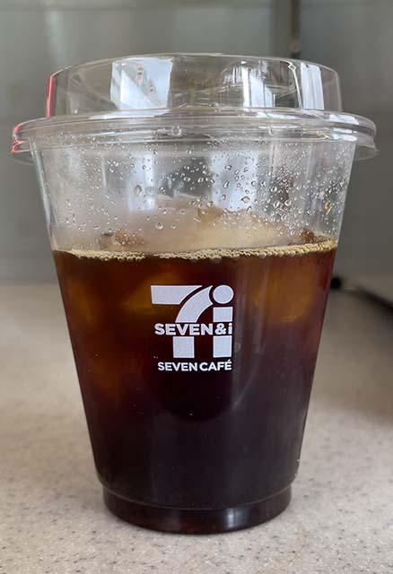 セブンカフェのアイスコーヒー