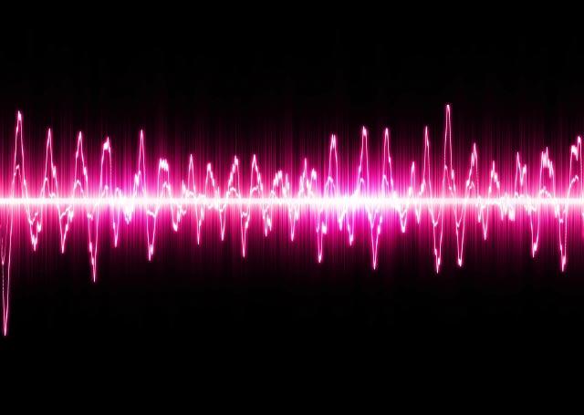録音レベルと波形