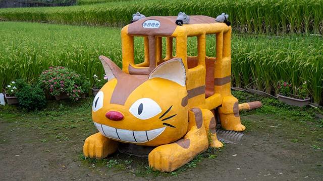 トトロのバス停のネコバス