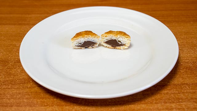 パイの実の断面